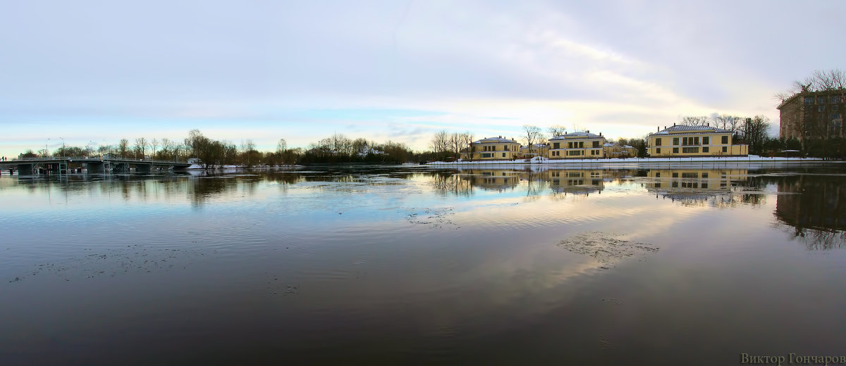 Река Средняя Невка - Laryan1