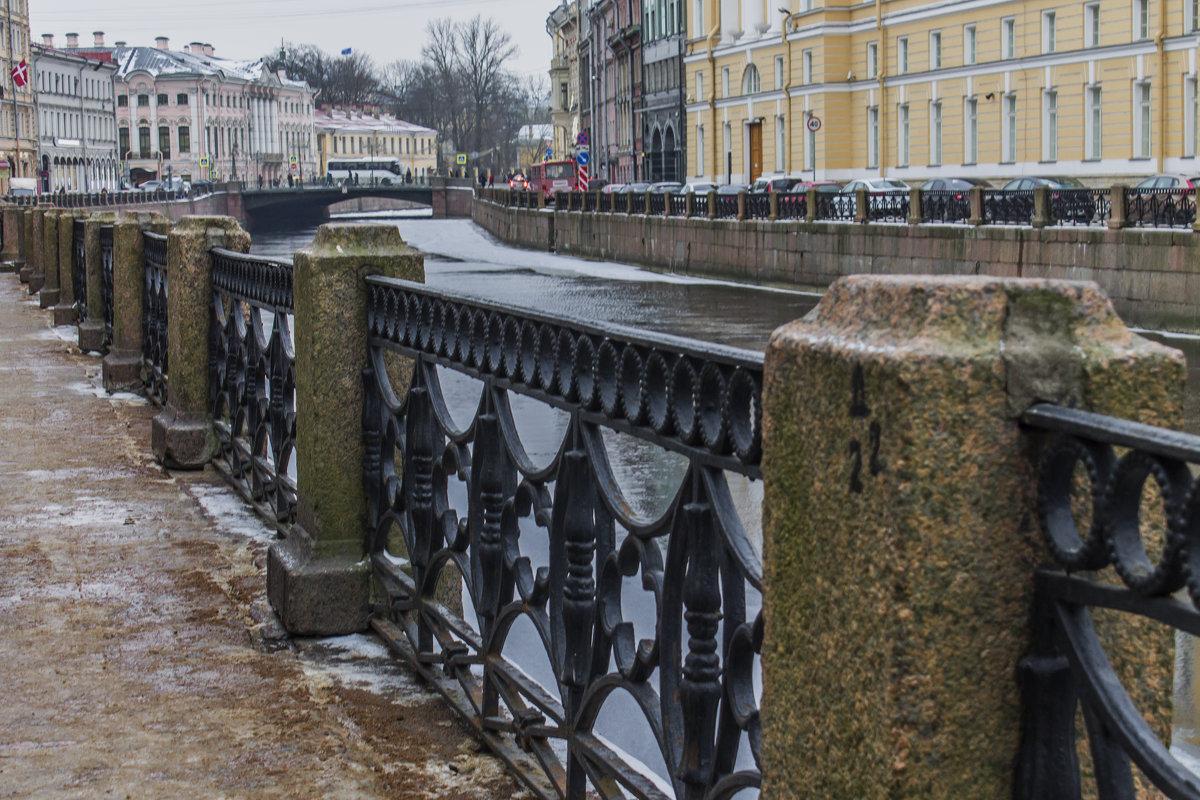 Просто Питер,  просто река Мойка - Людмила Волдыкова
