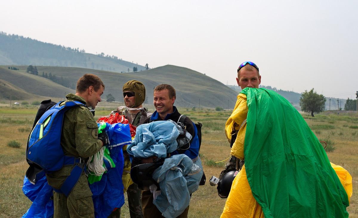 после прыжка - Геннадий Лосев