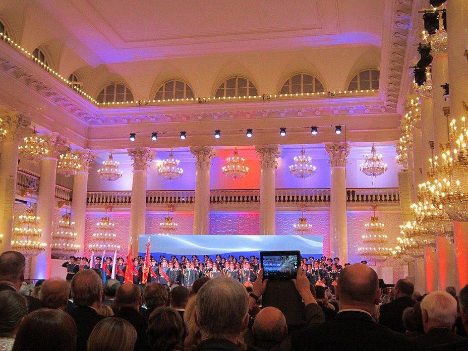 Колонный зал. Начало концерта - Дмитрий Никитин