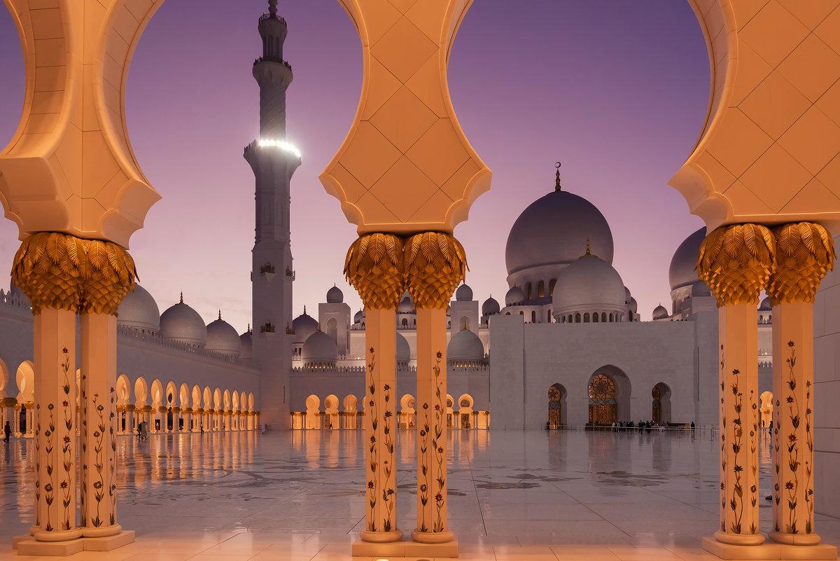 Мечеть шейха Заеда в Абу-Даби - Николай Сигаев