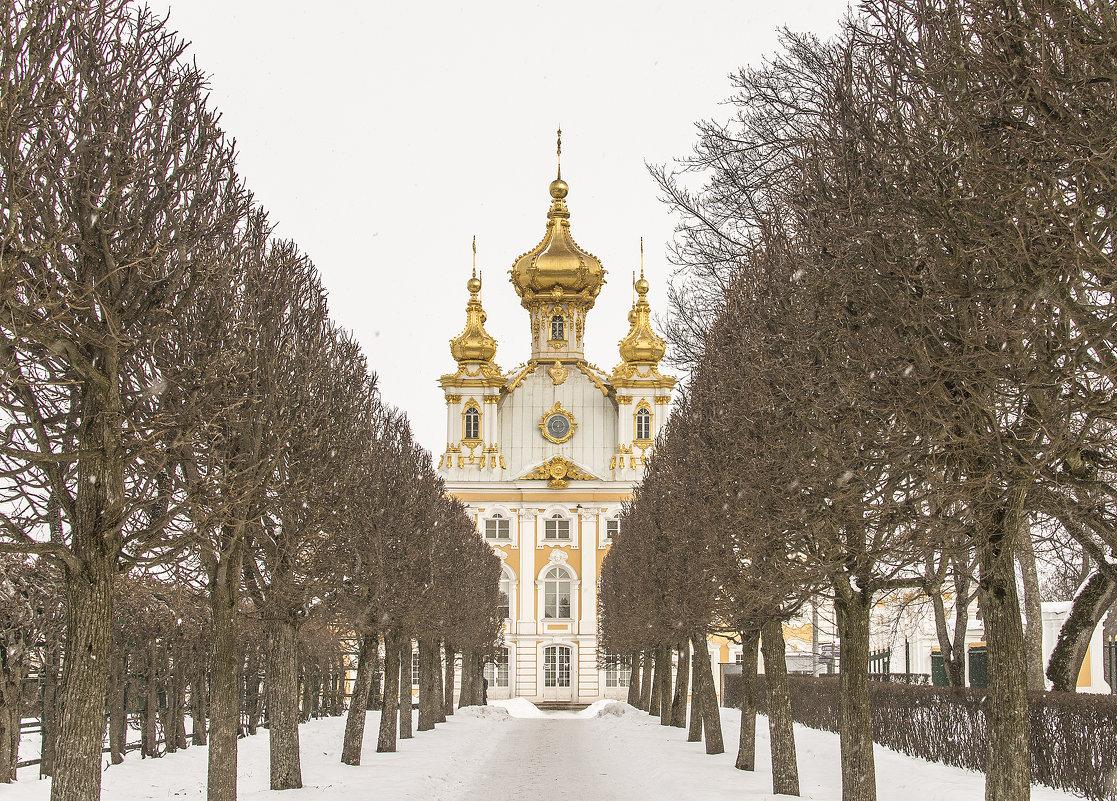 Прогулка по Петергофу в марте. - bajguz igor