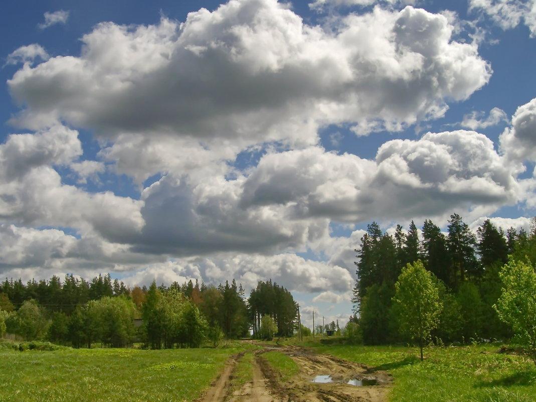 Плывут по небу облака - lady v.ekaterina