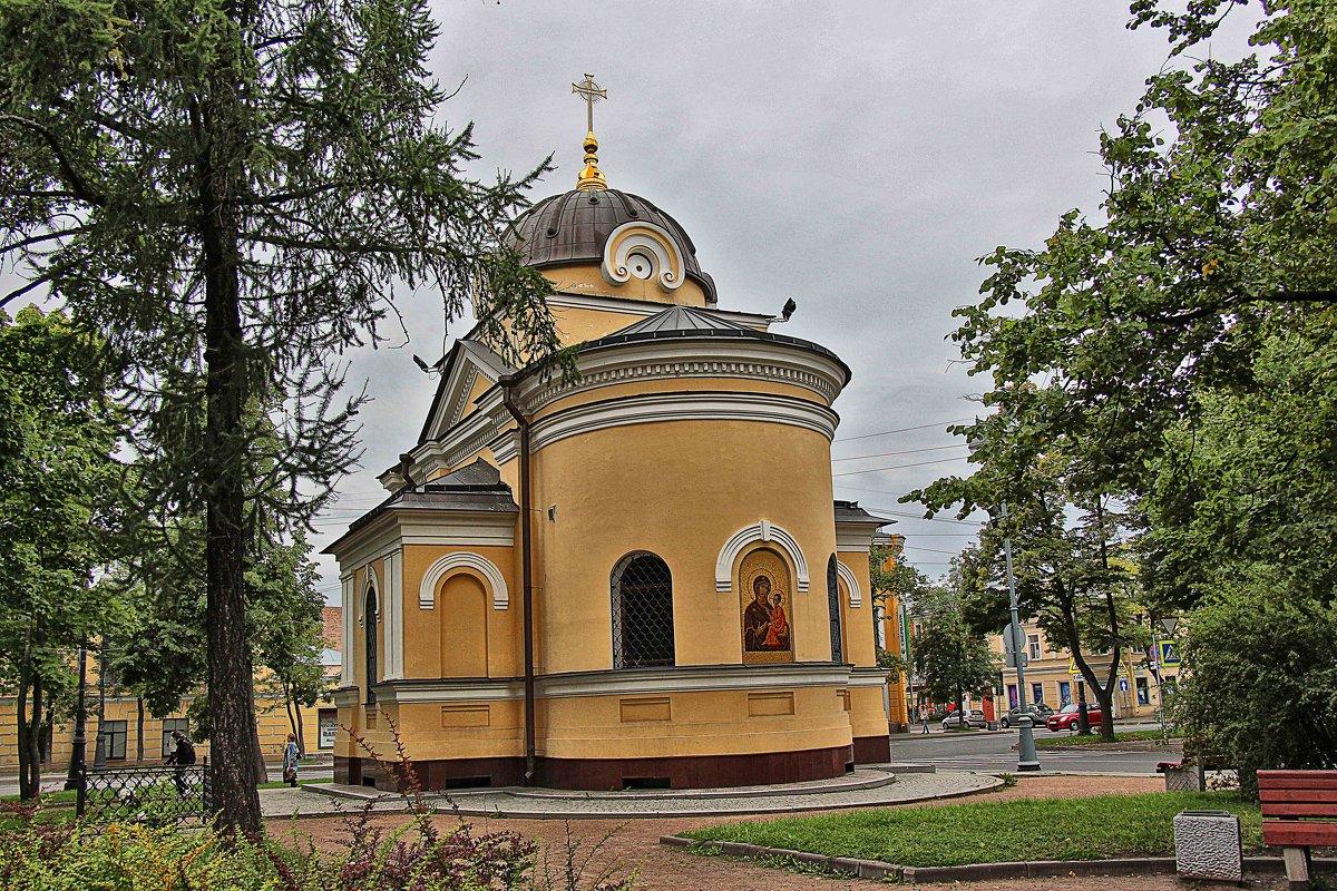 Храм-часовня в Андреевском сквере - Nina Karyuk