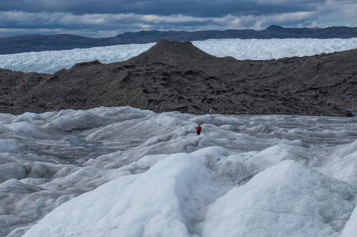 пешком по леднику Айс Пойнт (Ice Point 666) - Георгий