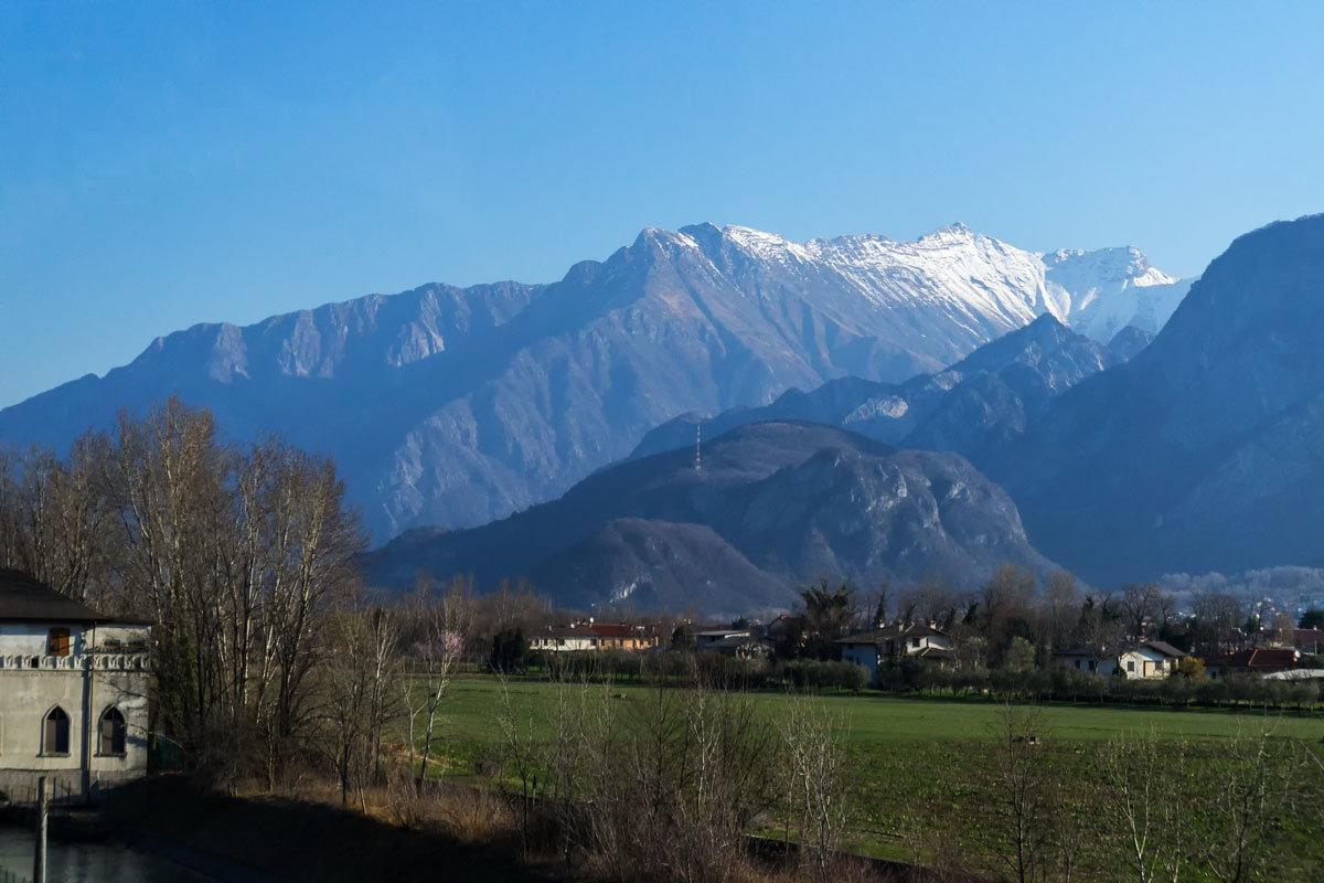 Из Италии в Австрию через Доломитовые Альпы - Надежда Лаптева
