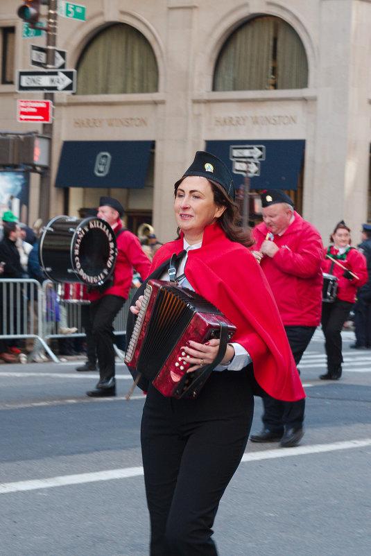 На параде в честь Дня Святого Патрика в Нью-Йорке - Олег Чемоданов
