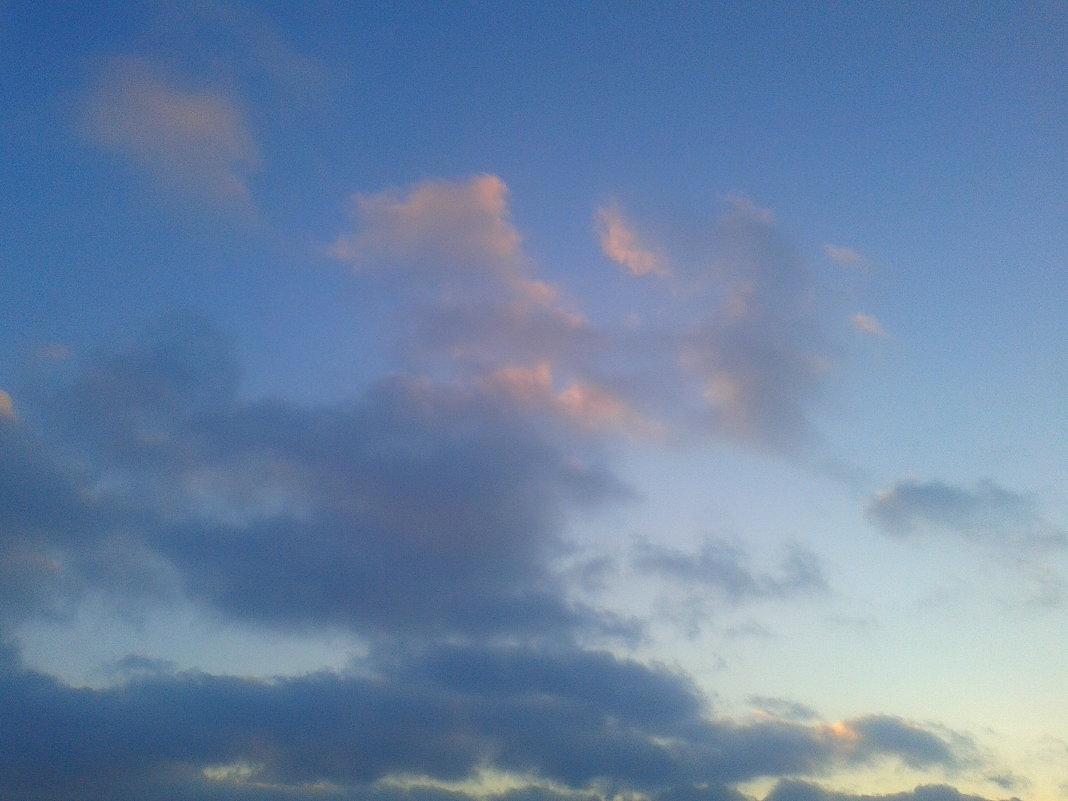 Облака на закате - Сапсан