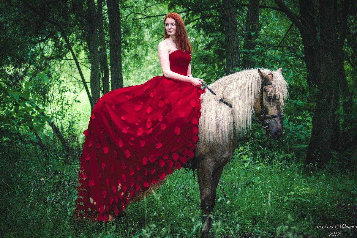 фотосессия с лошадью - Юлия З