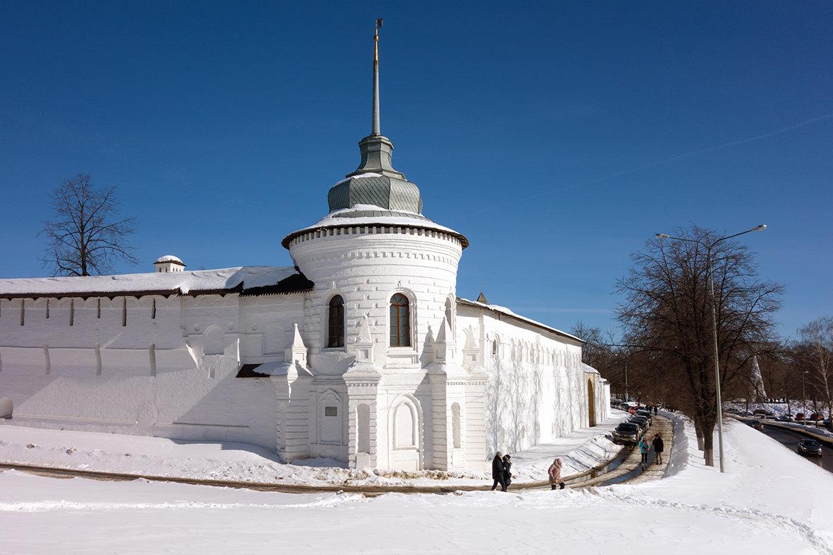 Богоявленская башня Спасо-Преображенского монастыря - Андрей Шаронов