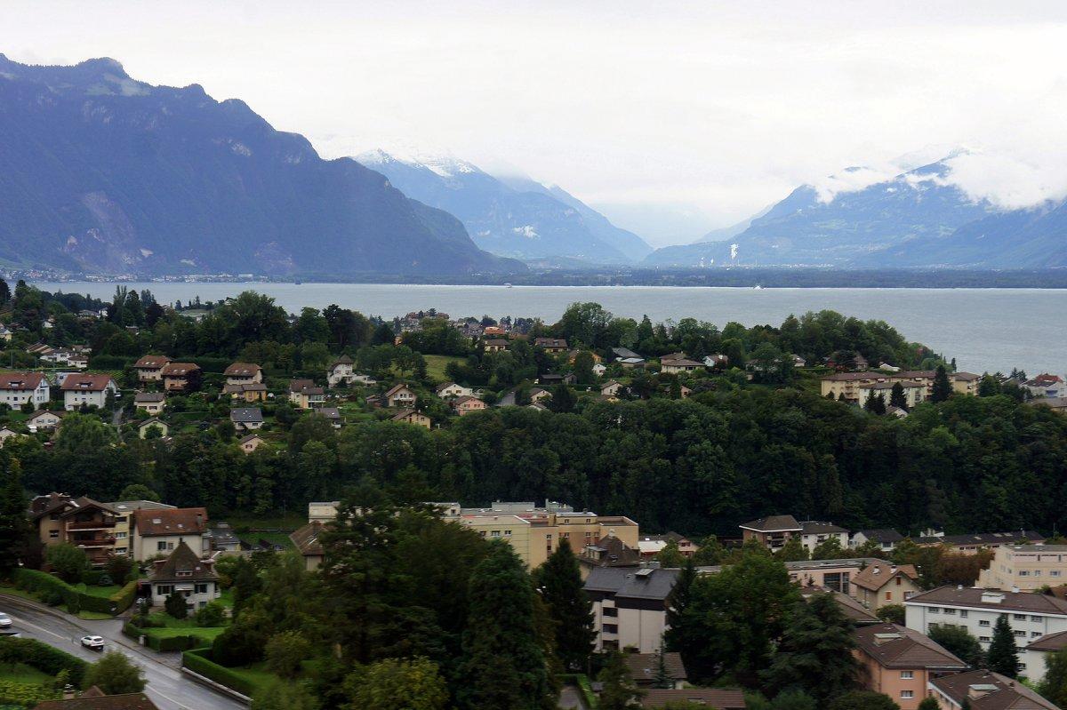 По дороге от Женевы до Монтрё (Швейцария) - Елена Павлова (Смолова)