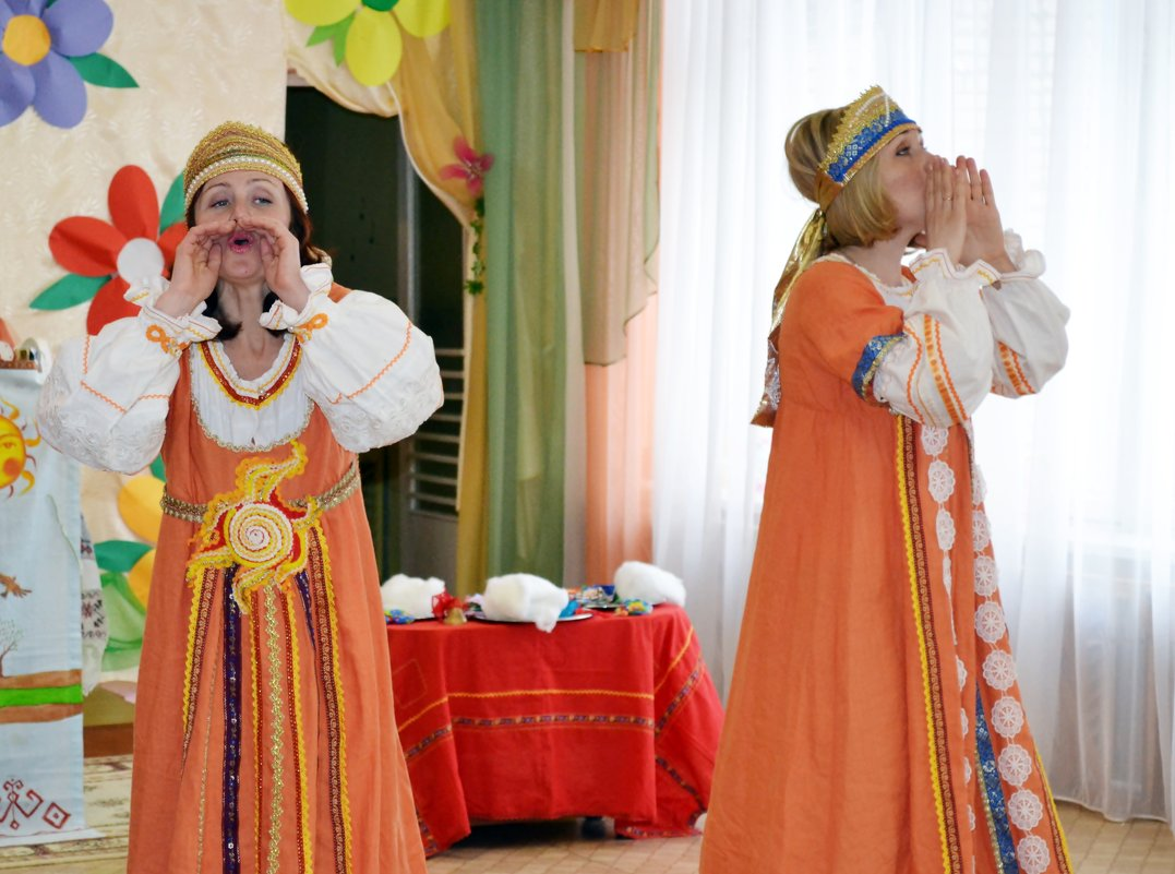 Жаворонки.Фольклорный спектакль в детсаду - Ната57 Наталья Мамедова