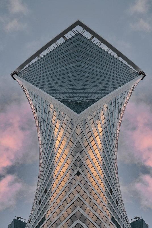 Фантазии на тему башня Эволюция. - Анастасия Смирнова