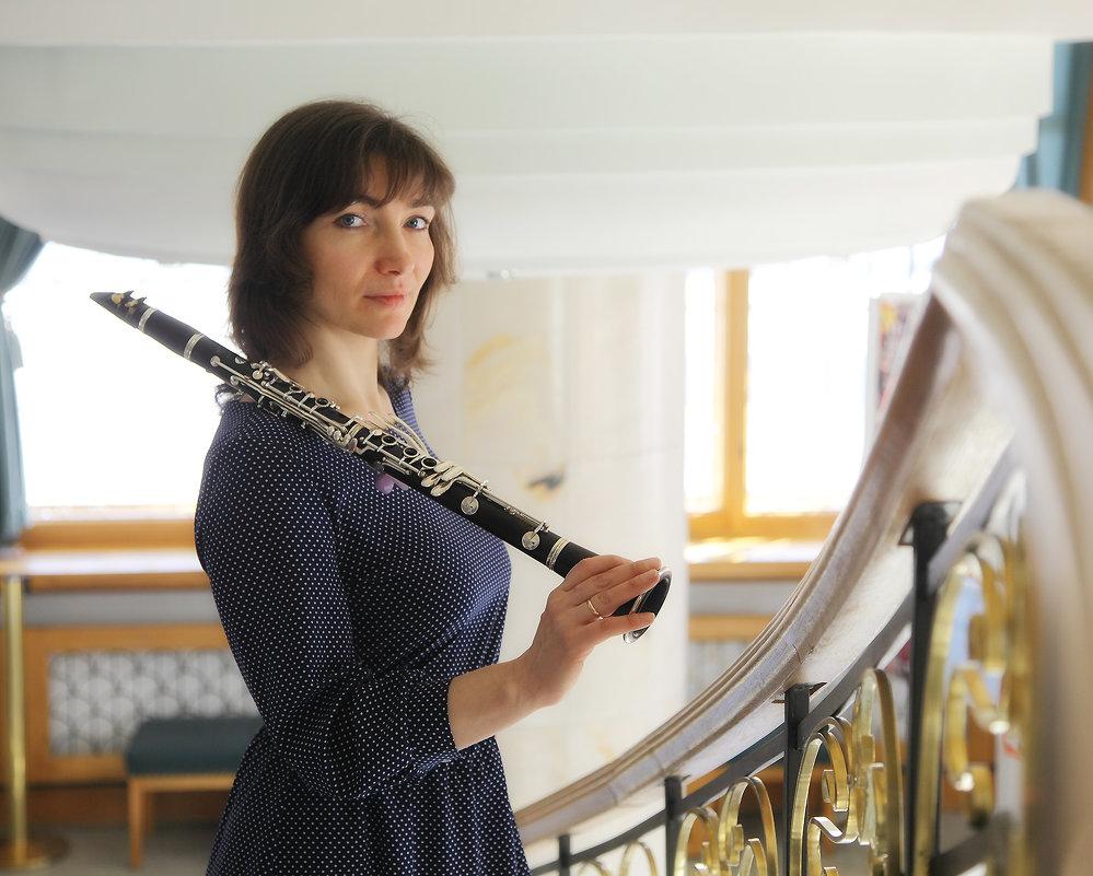 кларнетистка Юлия - Тарас Золотько