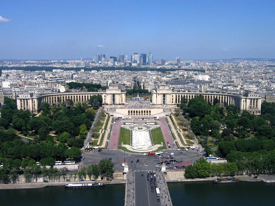Париж с высоты. - tatiana