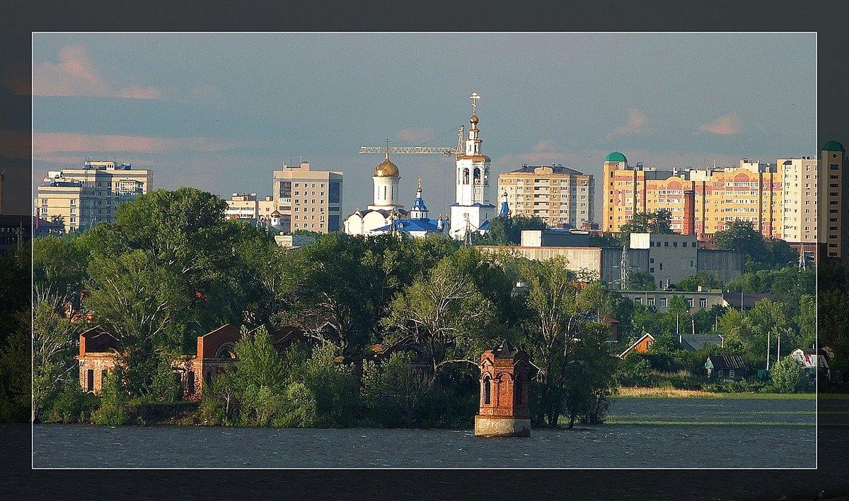 Зилантов монастырь (вид с Верхнего Услона) - Николай Филимонов