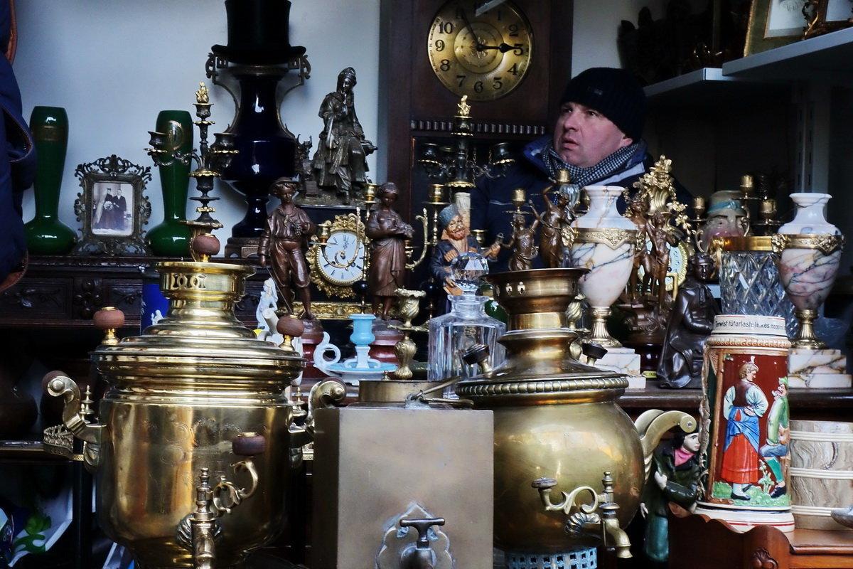 Рынок в Измайлово - Москва - Игорь