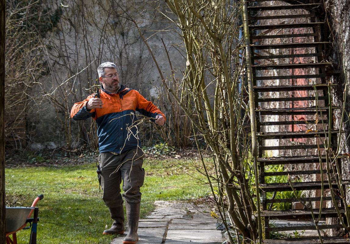 танцующий садовник - sergio tachini