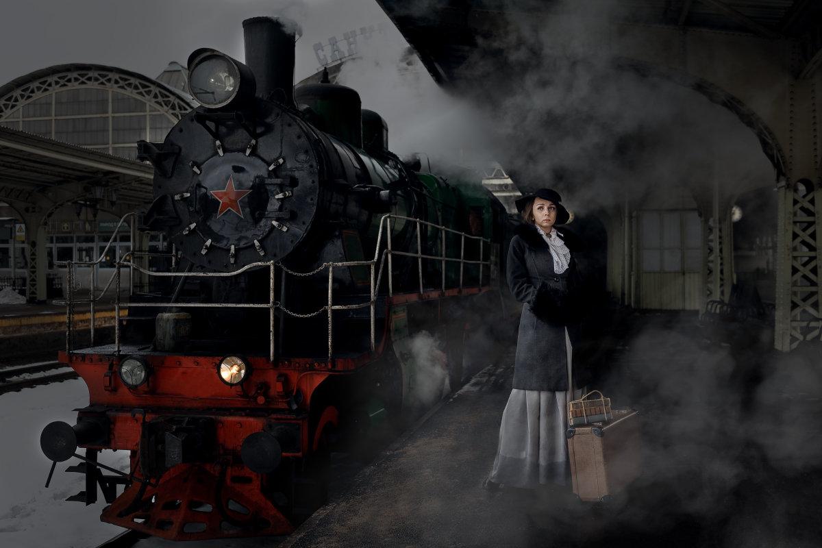 НА а Витебском вокзале - Владимир Горубин