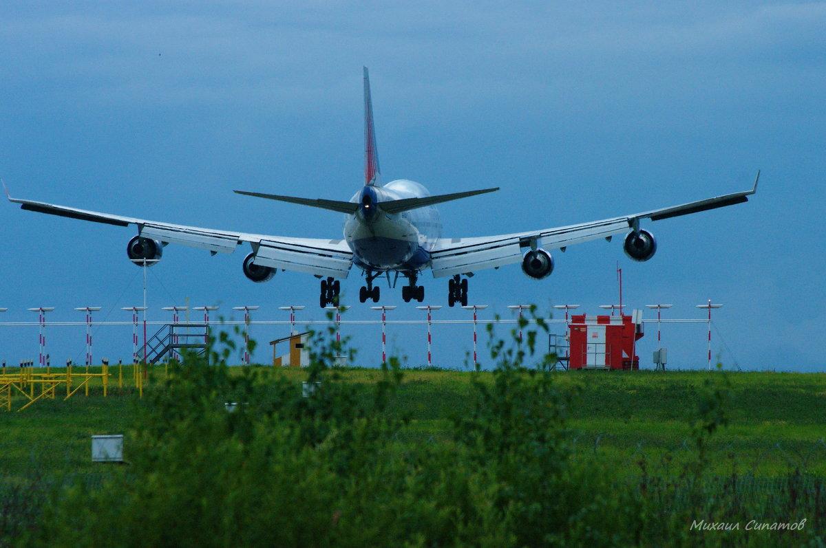 Boeing 747 - Михаил Сипатов