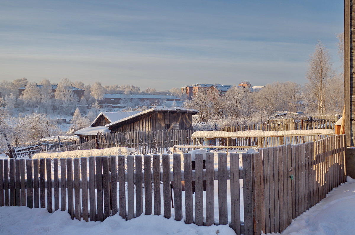 Зимний день в Молочном - Валерий Талашов