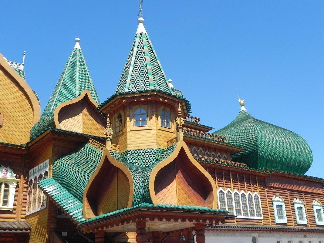 Дворец в Коломенском. - Aleksandr