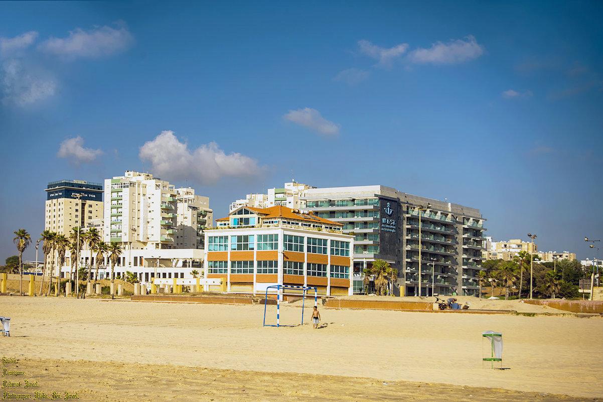 Израиль. Ашдодский пляж ... - Aleks Ben Israel