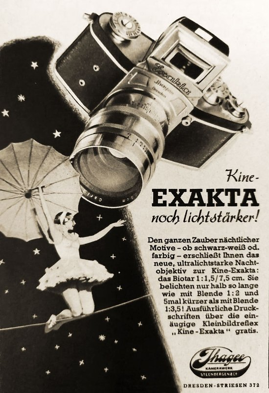 Biotar Carl Zeiss Jena 1:1,5 f=7,5см 1941 года выпуска.Стекло третьего рейха. - Виталий Виницкий