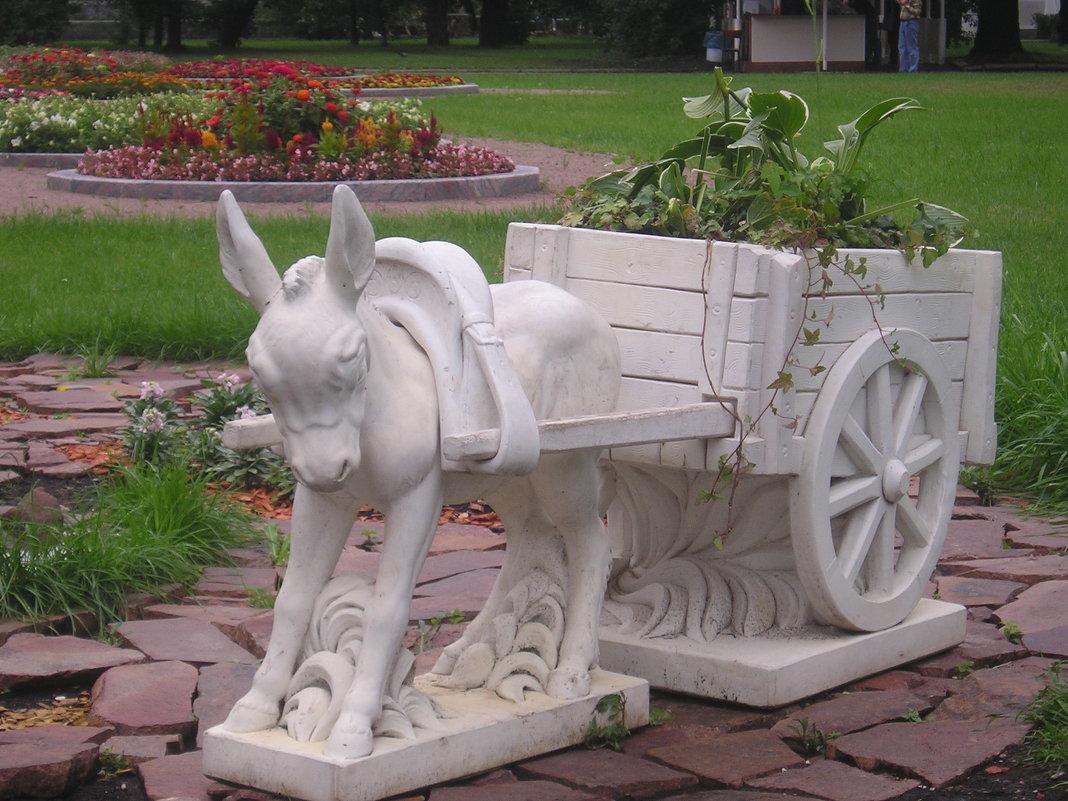 ослик и арба - Димончик