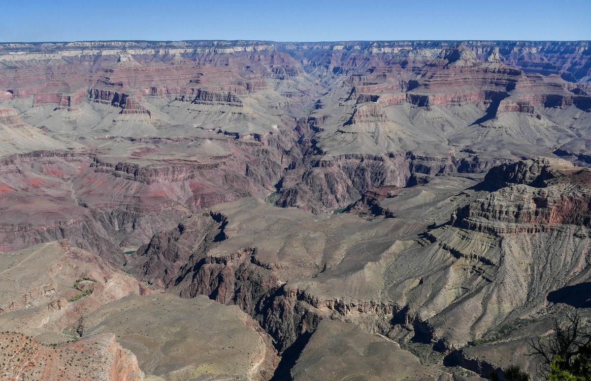 Гранд-Каньон, нижний уровень (Аризона, США) - Юрий Поляков