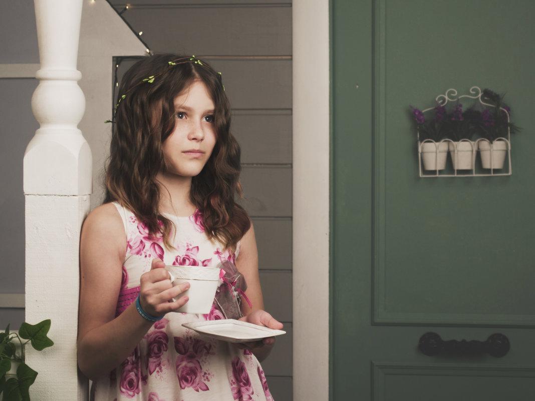 За чашкой утреннего чая - Оксана Задвинская