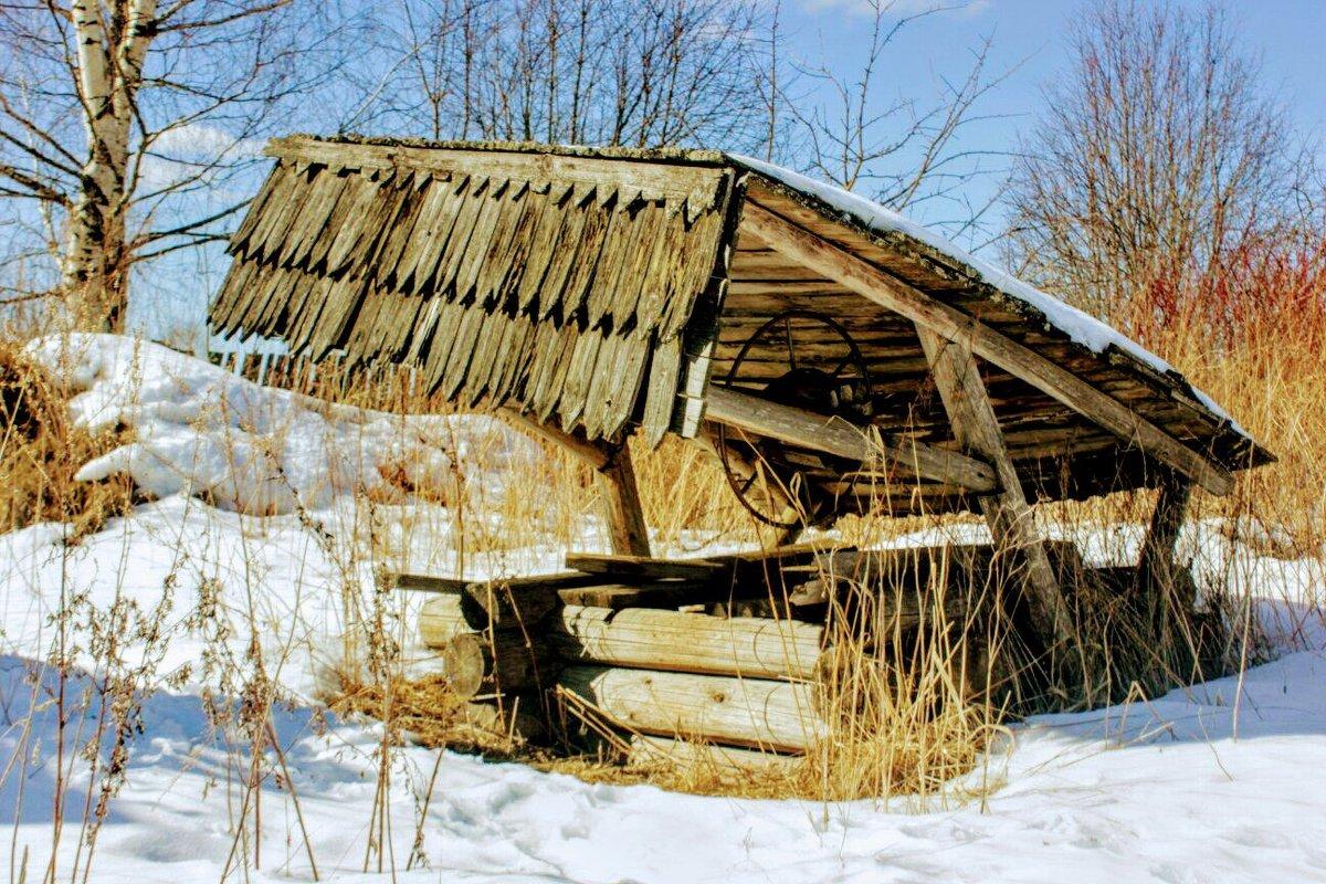 В деревне у колодца - Сергей Кочнев