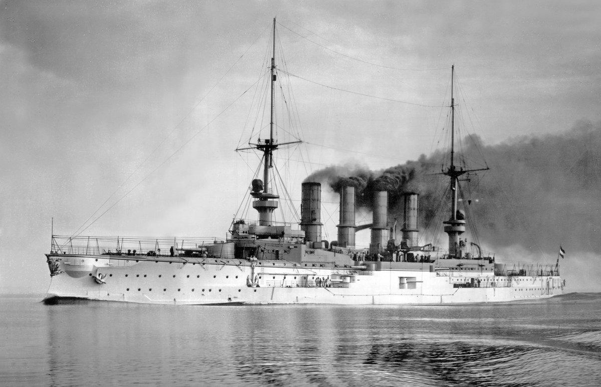 """броненосный крейсер """"Scharnhorst"""" - Александр"""