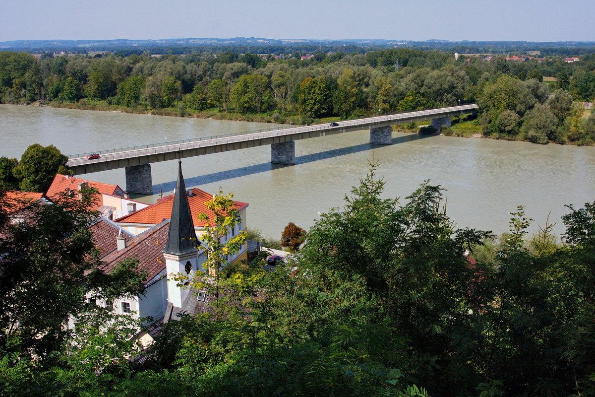 Пограничная река Инн - Вальтер Дюк