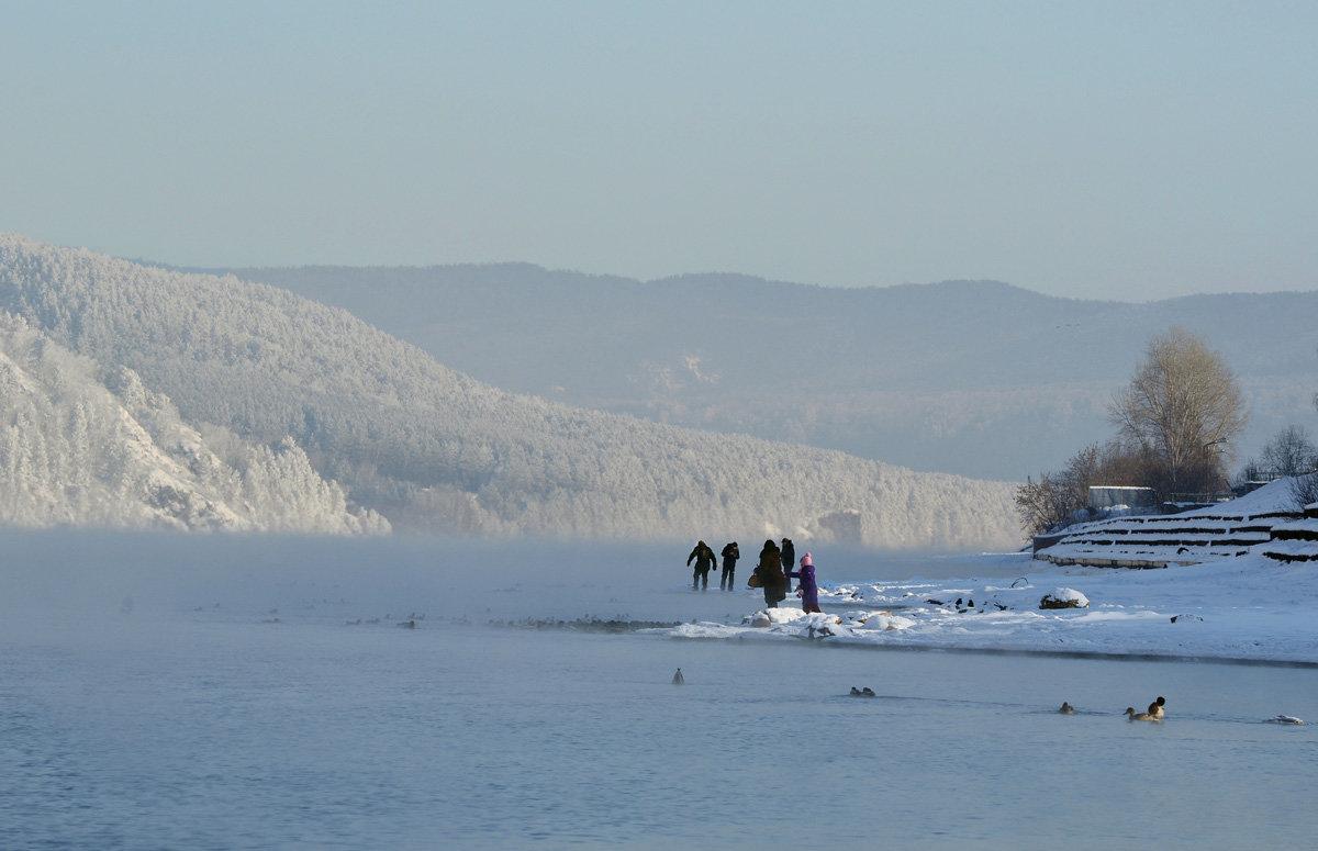 В морозном тумане - Татьяна Соловьева