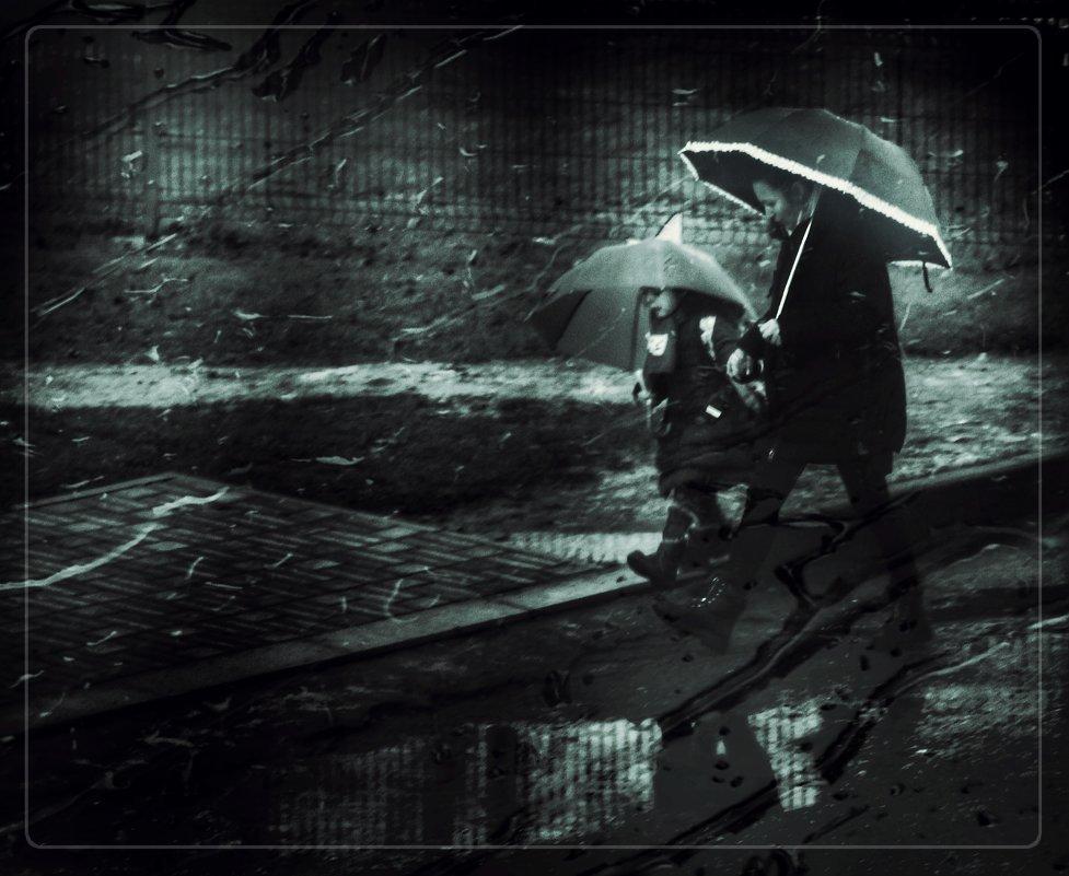 Опять дожди. - Вера Катан