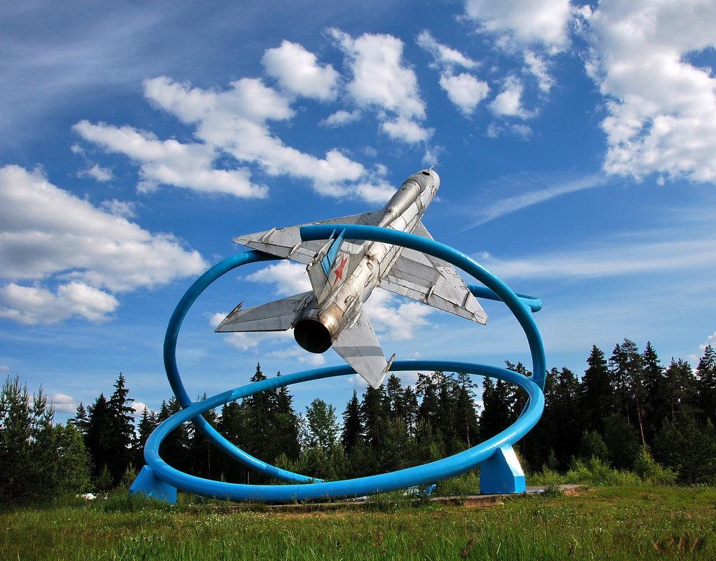МИГ-21 около Тихвина - Сергей Никитин