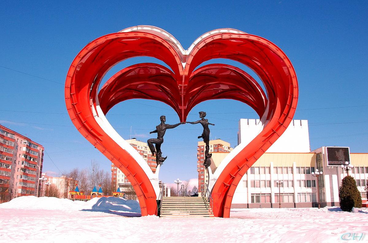 Наро-Фоминск. Скульптура в честь влюблённых - Сергей Никитин
