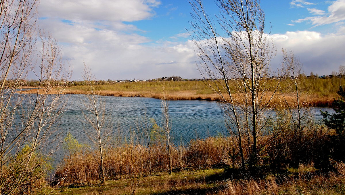весеннее озеро - Александр Прокудин