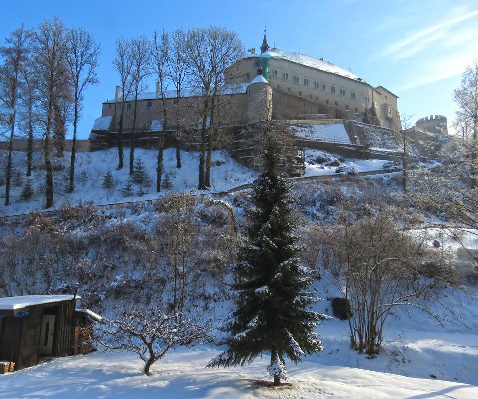 Замок Штернберк зимой. - ИРЭН@ .