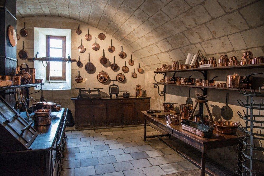Кухня замка Шенонсо (Chenonceaux) - Георгий