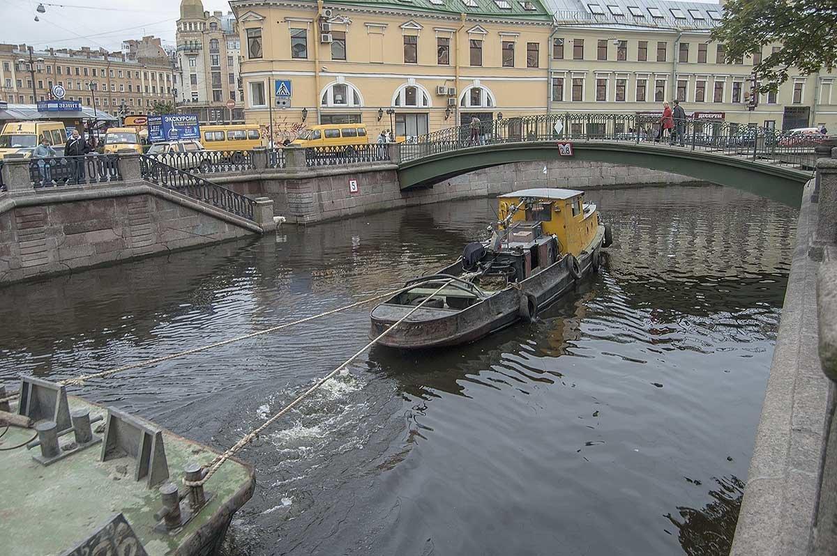 Санкт-Петербург.Сенной мост на канале Грибоедова. - Игорь Олегович Кравченко