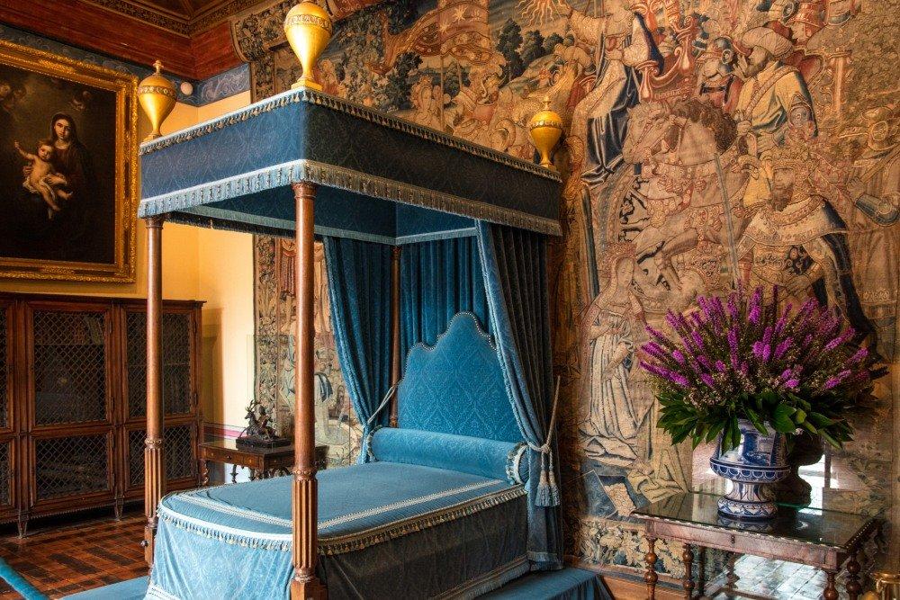 спальная в замке Шенонсо (Chenonceaux) - Георгий