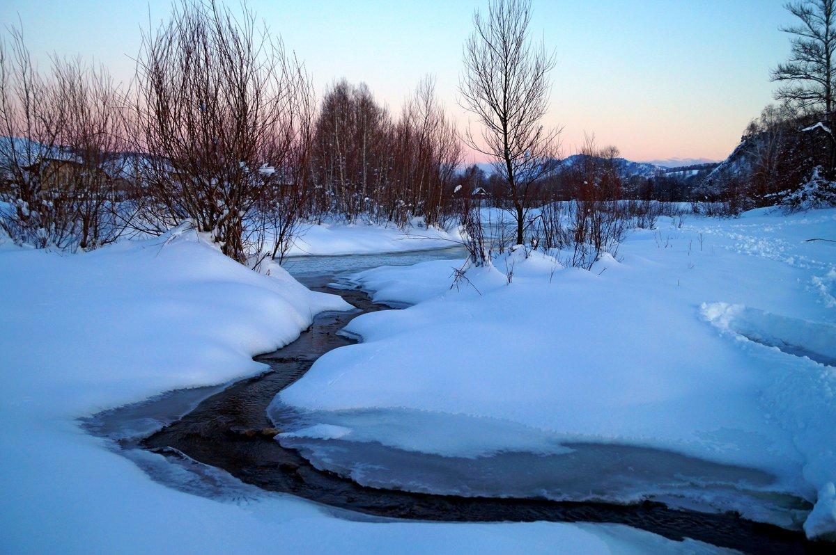 Нежные краски Чарышского заката - Кристина Воробьева