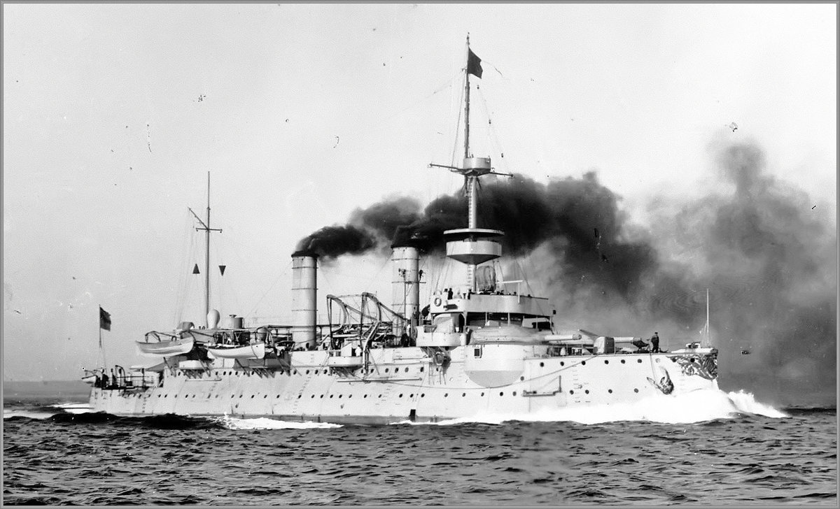 "SMS ""Hagen"", German coastal defense ironclad - Александр"