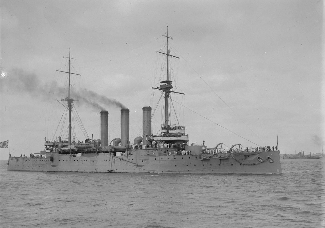 """японский броненосный крейсер """"Iwate"""". - Александр"""