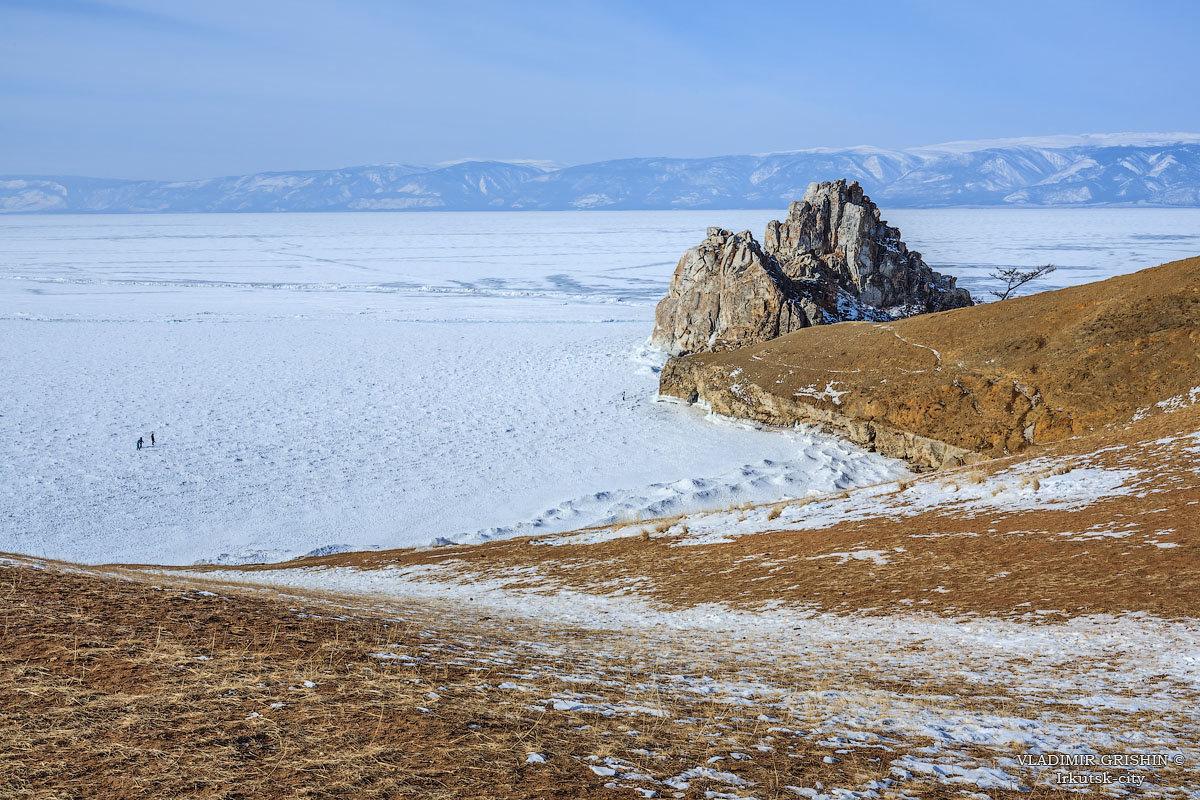 По зимнему Байкалу - Владимир Гришин