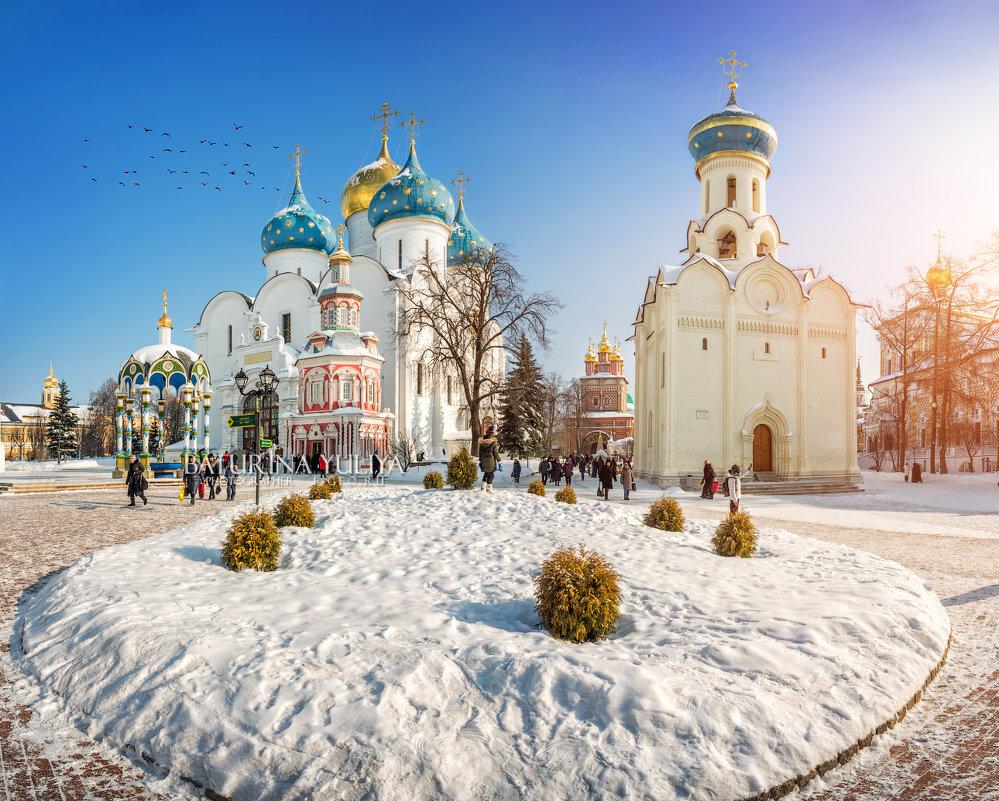Зима в Лавре - Юлия Батурина