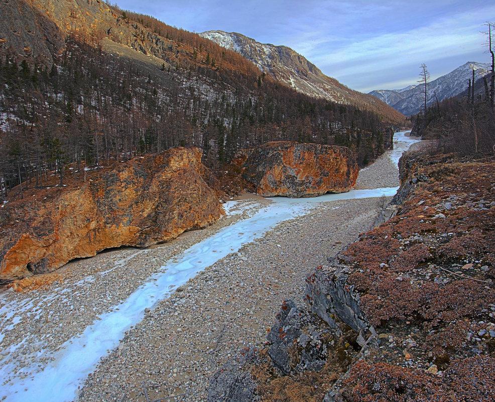 Ущелье реки Чёрный Иркут - Анатолий Иргл