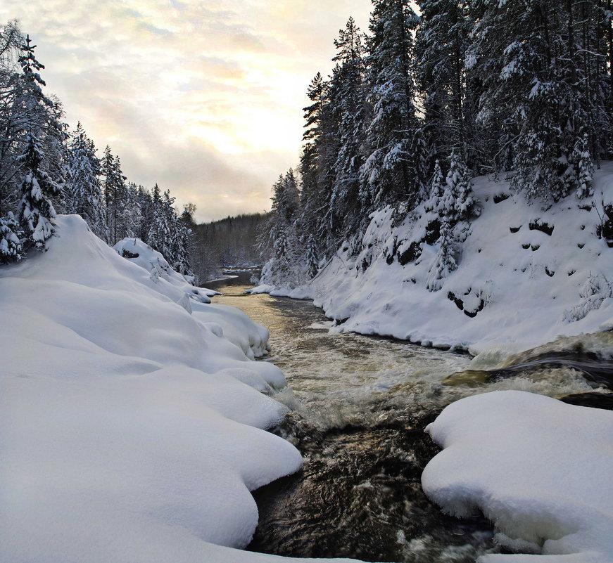 Зимушка-зима, нескончаемая... - Юстас Еркко-Balnanosis
